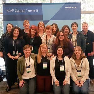 mvp summit - lady MVPs!