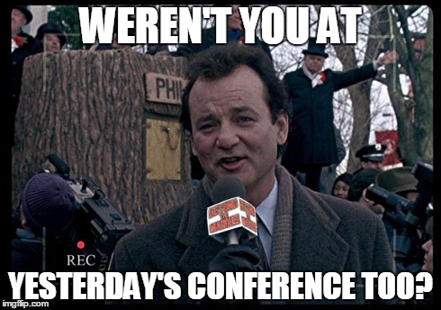 How many is too many conferences?