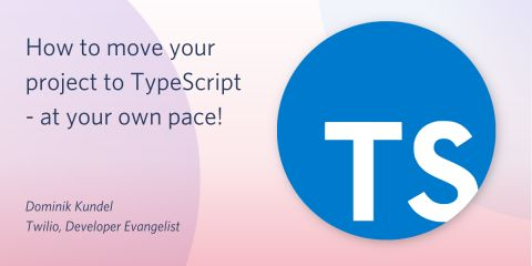 How to move your project to TypeScript - at your own pace
