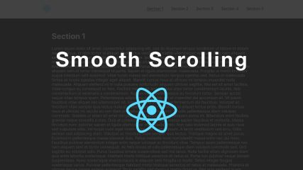 Implementing Smooth Scrolling in React