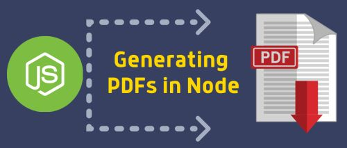 Generating PDFs with Node