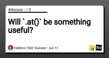 Will `.at()` be something useful?