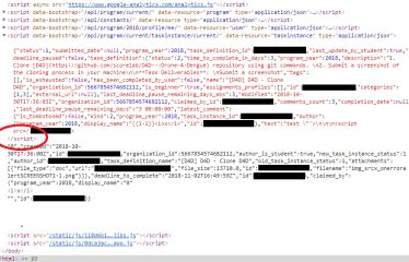 XSSing Google Code-in thanks to improperly escaped JSON data - Thomas Orlita's blog