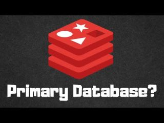 Can Redis be used as a Primary database?