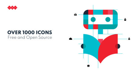 EOS free & open source icons