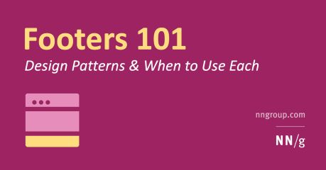 Web Page Footers 101: Design Patterns and When to Use Each