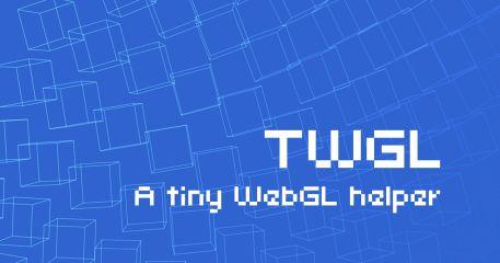 TWGL.js, a tiny WebGL helper library