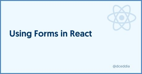 Using Forms in React