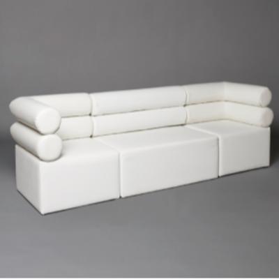 Modular Straight Back Sofas