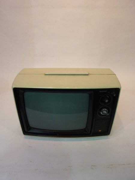 2: White Retro 1970's TV
