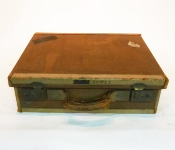 1: Brown Canvas Briefcase
