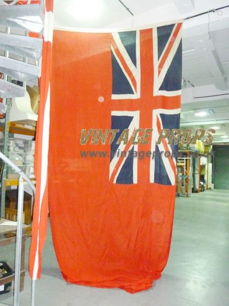 1: Giant union jack flag