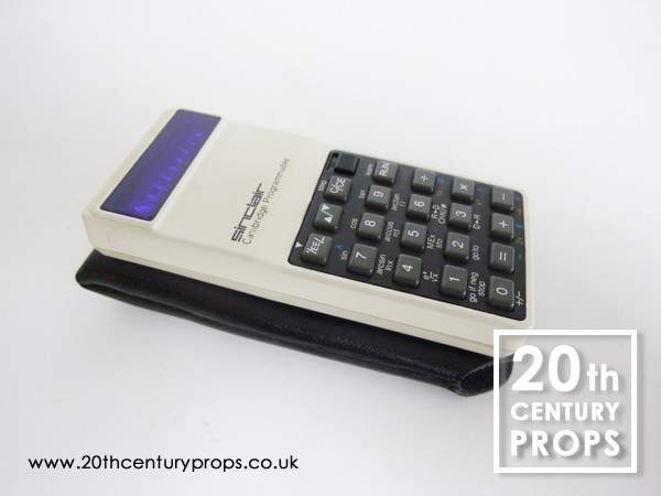 1: Sinclair Cambridge Programmable Calculator