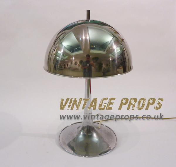 2: Chrome desk lamp