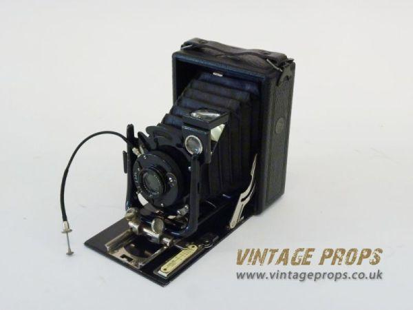 1: Vintage folding camera
