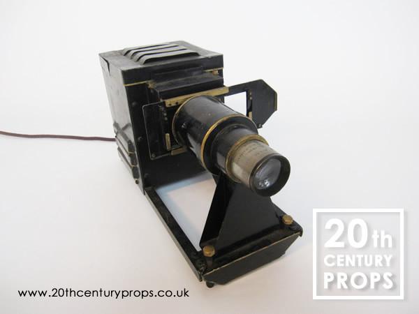 1: 1940's slide projector