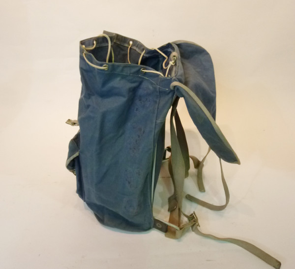 3: Blue Canvas Hikers Backpack