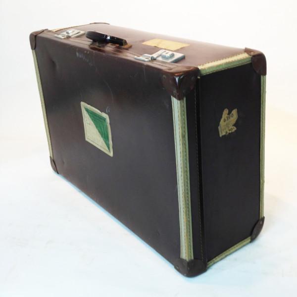 4: Large Brown Travel Case