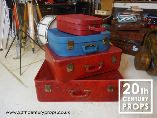 1: 1950's luggage