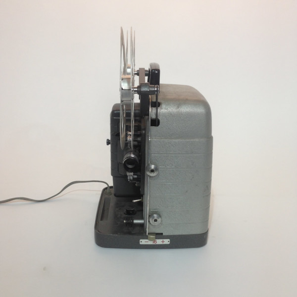 3: Grey Retro Bell & Howell Moviemaster 8mm Film Projector