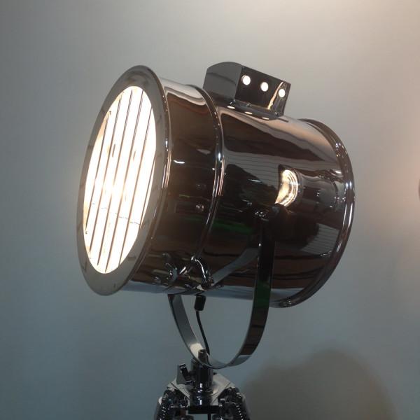 5: Vintage glamour polished chrome spotlight