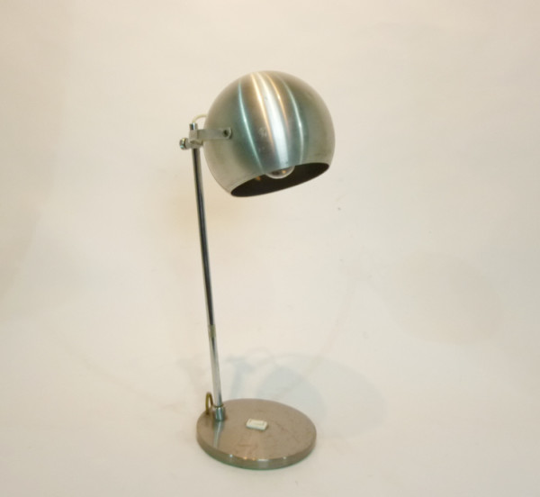 1: Metallic Vintage Spherical Desk Lamp