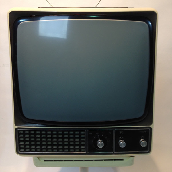 2: White 1960's Retro Phillips TV