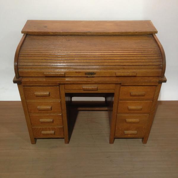 3: Oak roll top desk