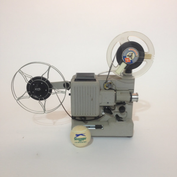 4: White Eumig 8mm Film Projector