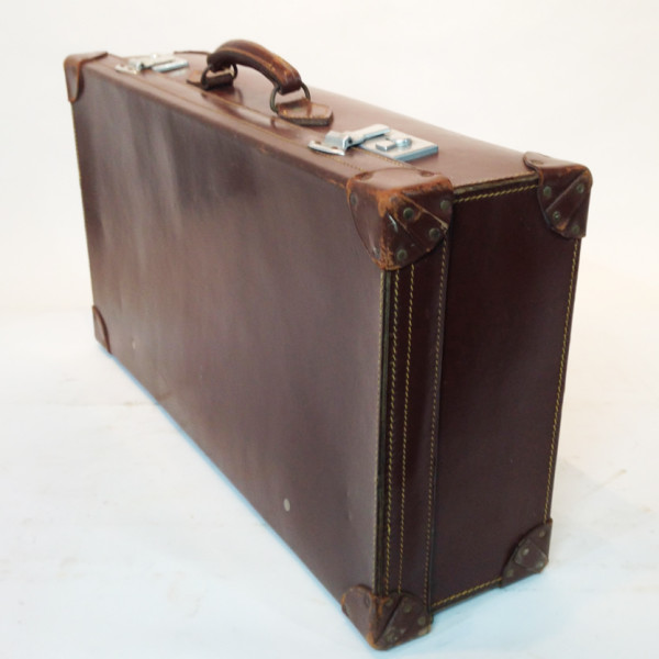 4: Brown Leather Suitcase 4