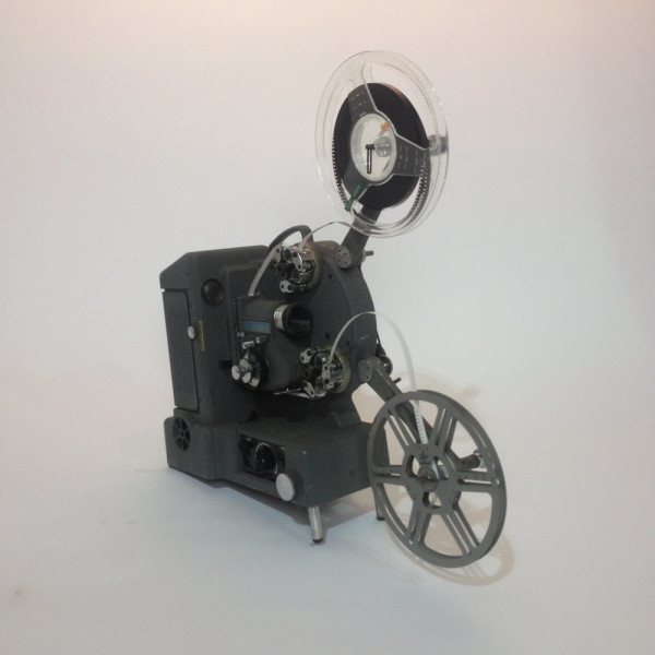 3: Grey Heurtier 8mm and 16mm Film Projector