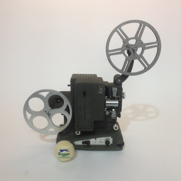 4: Dark Grey Bolex 8mm Film Projector