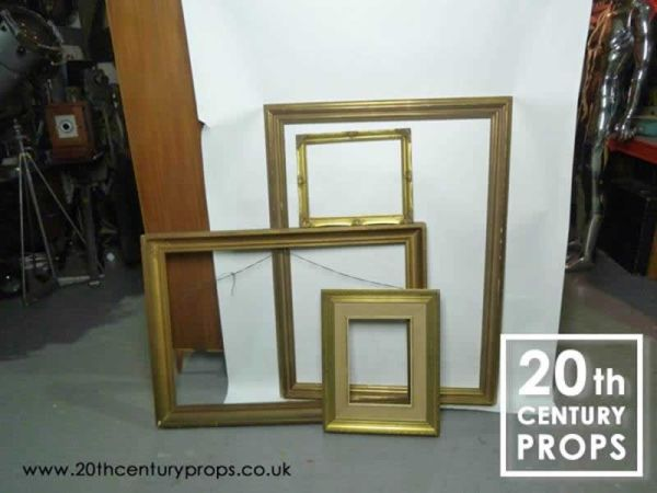 1: Gilded Picture Frames