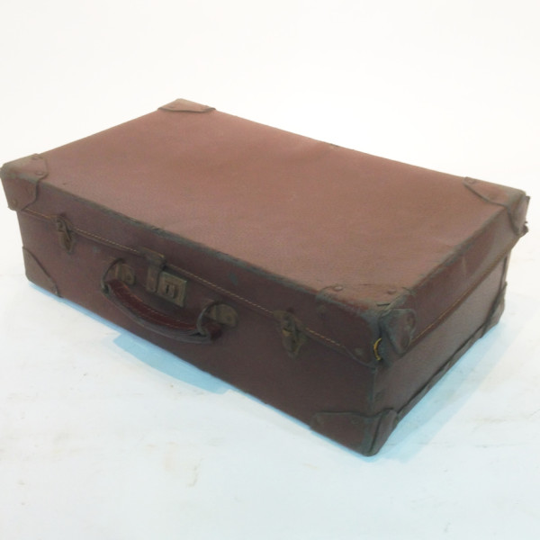 4: Brown Leather Suitcase 3
