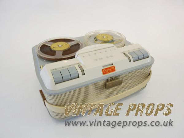 2: Vintage tape recorder