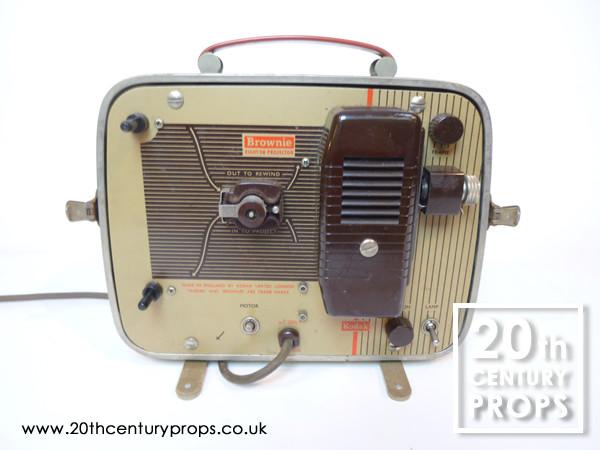 1: Vintage movie projector