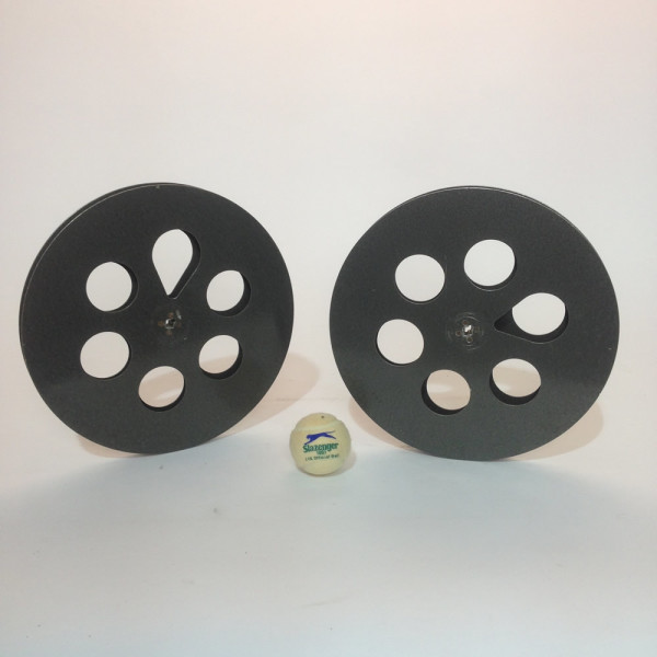 1: Large Metal 35mm Film Reels