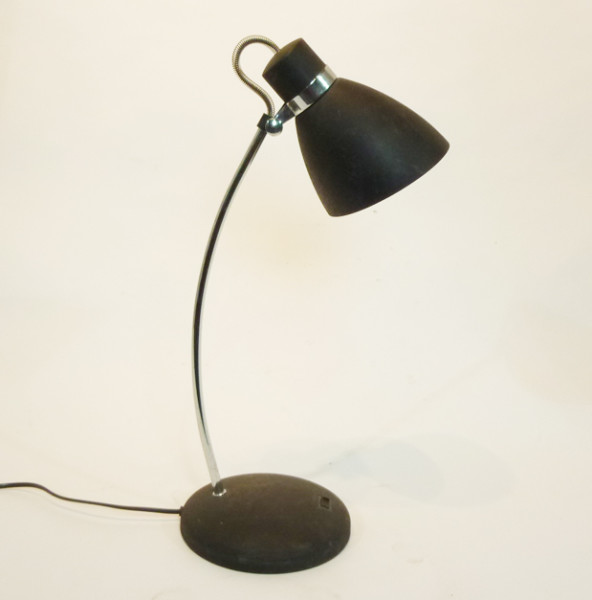 1: Black Posable Desk Lamp
