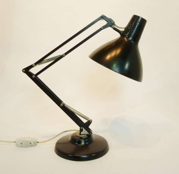 2: Black Angle Poise Desk Lamp