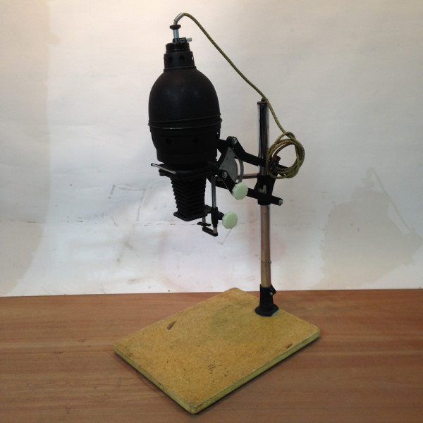3: Black Coloured Overhead Photographic Slide Projector/Enlarger