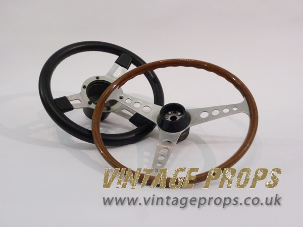 1: Vintage Steering Wheels
