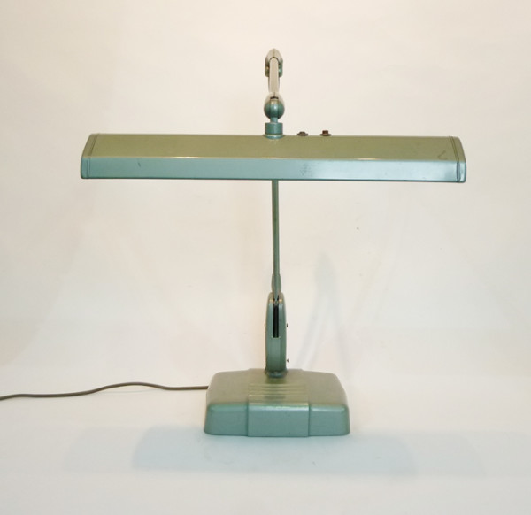 3: Industrial adjustable desk lamp