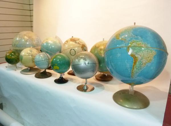 3: Vintage Globes