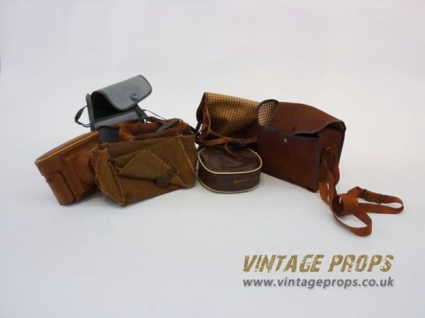1: Vintage camera bags