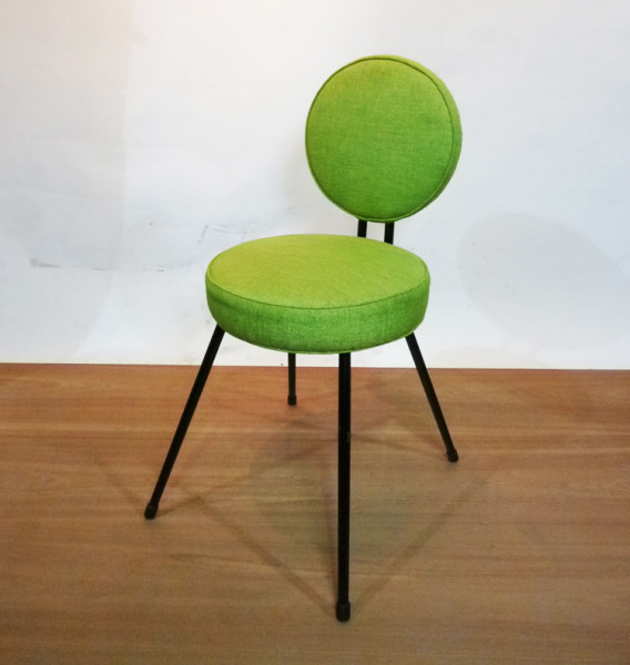 1: Lime Green 1960's Retro Chair