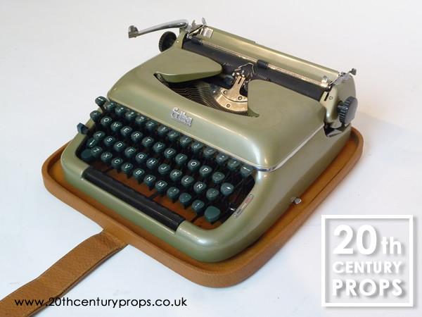 3: Vintage ERIKA typewriter