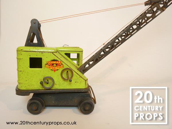 2: VIntage toy crane
