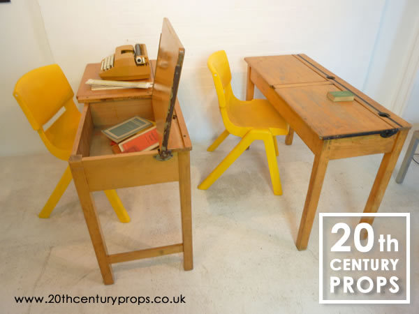 2: School desks