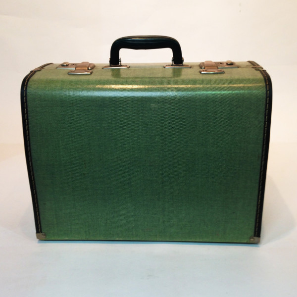1: Small Green Travel Case