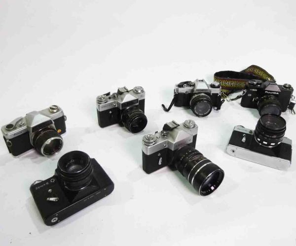 1: 90's style SLR Cameras